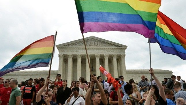 July 16, 2015 - Republican support of Supreme Court at all-time low. -Republican approval of the Supreme Court has plunged to a historic low after a court term that brought liberal wins on same-sex marriage and ObamaCare, according to a new Gallup poll. - Just 18 percent of Republicans now approve of the court, the lowest numbers in the 15-year history of the Gallup tracking poll. - Getty Images