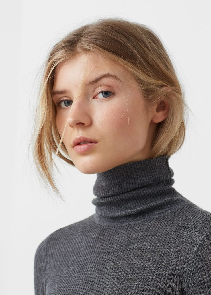 Pull-over col roulé - Cardigans et pull-overs pour Femme | MANGO France