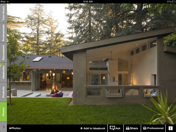 Beautiful small houses pinterest midcentury modern for L home design