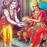 Annapoorna Devi Nityanandakari Sloka And Meaning