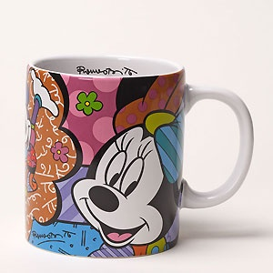 Minnie Mouse - Minnie Mug - Romero Britto - World-Wide-Art.com - $16.00 #Britto #Minnie