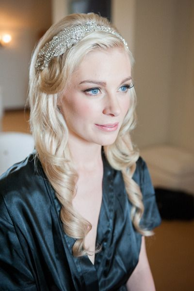 Classic & Pretty Headpieces for Older Brides. #weddings #headpieces