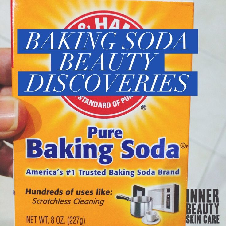 Who knew?! Baking soda has tons of beauty uses other than whitening teeth. #skintips #skincare #innerbeautyskincare #bakingsoda #beautytips