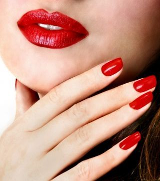 Red Nails Red Lips