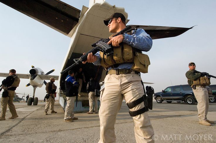 Private military contractors in Afghanistan. Believe what you want, they have more authority over all US Military solders other than the US Navy Seals. Just like the US Navy Seals, everything is TOP Secret to where not even the president knows EVERYTHING.
