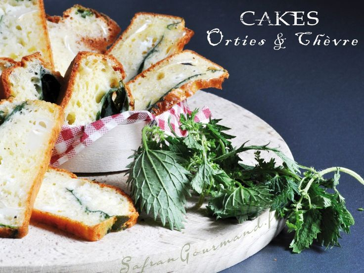 Cake aux orties & fromage de chèvre - Safran Gourmand