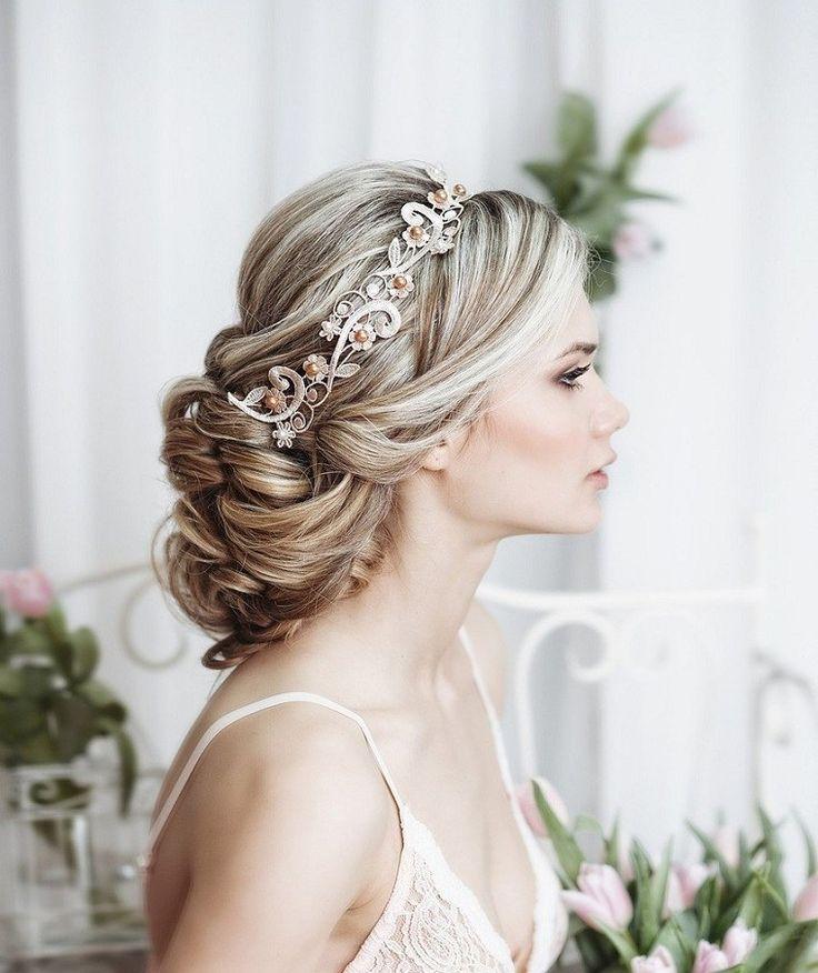 Perfecto peinados para bodas sencillos Colección de tendencias de color de pelo - Peinados de boda y tendencias para 2018 que no pueden ...