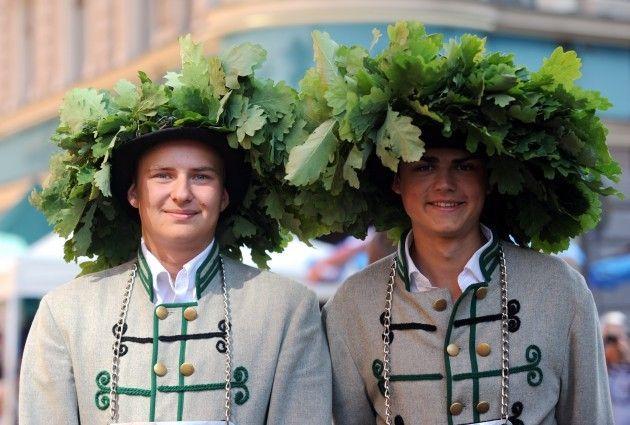 The Green Market - pre-midsummer event in Riga, Latvia, 2013