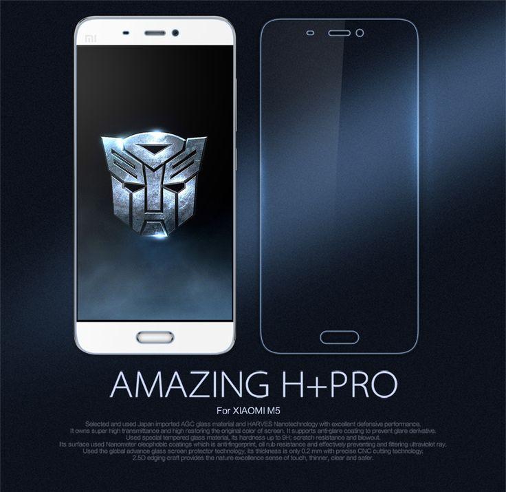 10pcs/lot Wholesale NILLKIN Amazing H+PRO Anti-Explosion 9H Tempered Glass Screen Protector For xiaomi mi5 m5 mi 5(5.15 inch)
