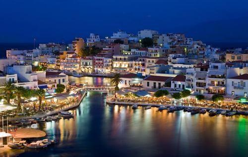 Agios Nikolaos, Greece.