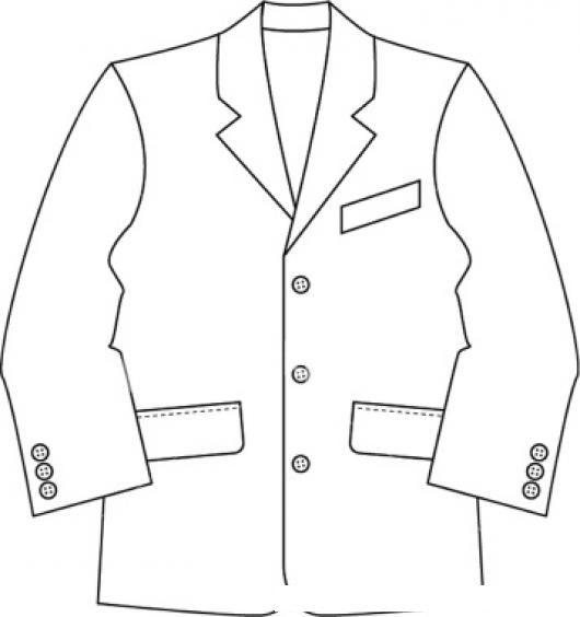 Saco De Vestir Para Pintar Y Colorear Traje Formal De Hombre Colorear Dibujos Varios Saco De Vestir Para Pi Traje Formal Hombre Colores Diseno De Vestuario