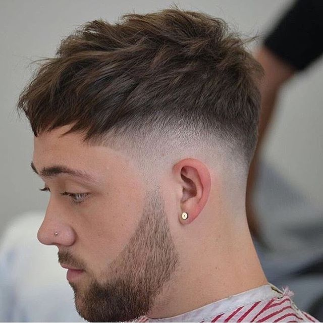 "6,322 Likes, 36 Comments - Barber Lessons ✂️ (@barberlessons_) on Instagram: ""Cropped Fade w/ heavy contrast by @maxi_privilegebarbers in Spain  - I love the texture on this…"""