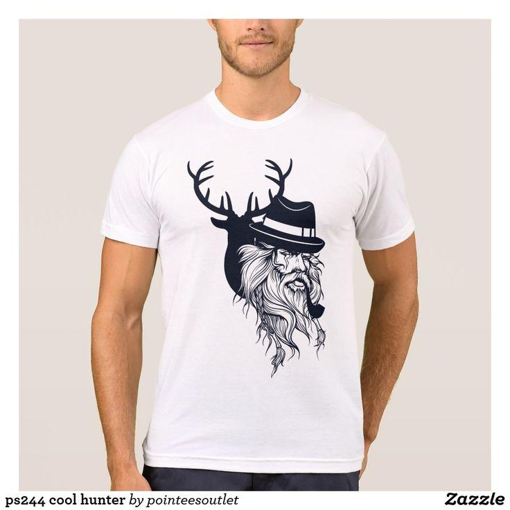 ps244 cool hunter tees #tees #tshirt #t-shirt #shirt #skull #cool #clothing