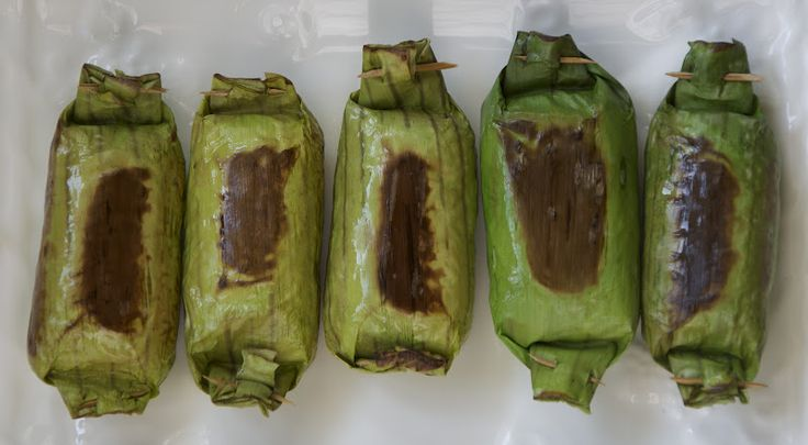 Indonesian Medan Food: Lemper Ayam Medan ( Shredded Chicken in blanket)