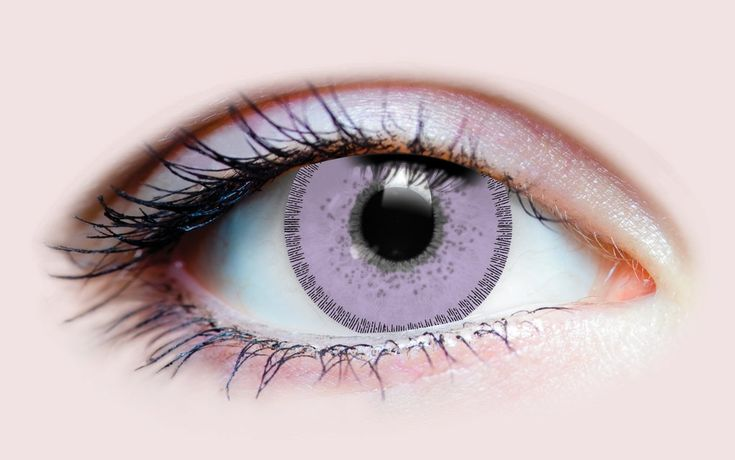 Charm Lilac – Primal Contact Lenses