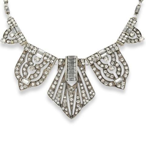 Abby Vintage Grecian Necklace