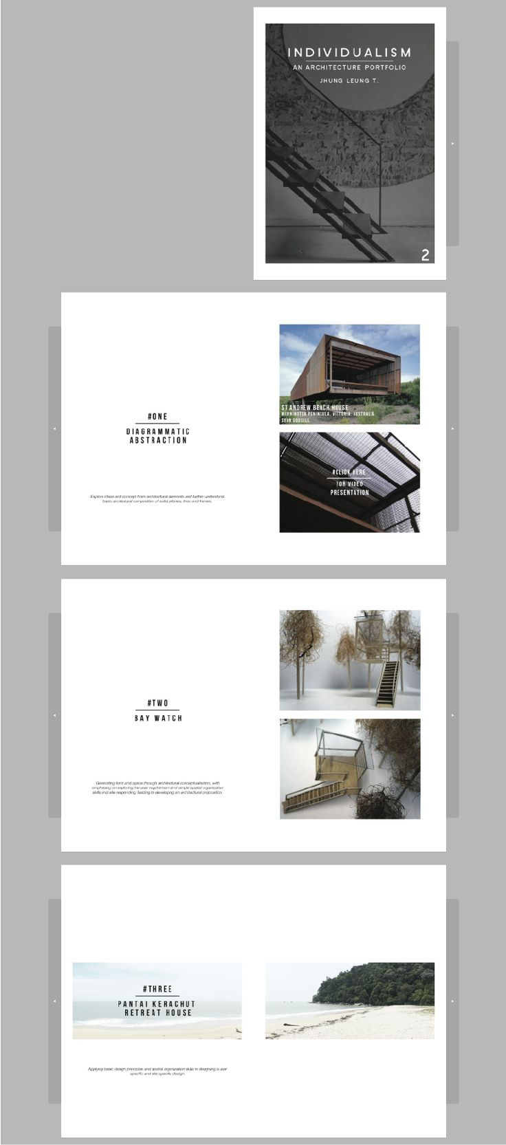 Architecture Design Portfolio Ideas
