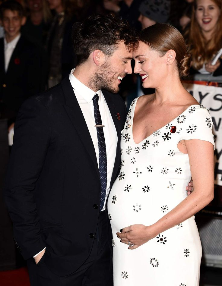 We chatted to Sam Claflin about becoming a dad and it was almost too much
