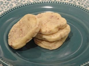 pecan halves hint at the rich flavor of these cookies buttery pecan ...