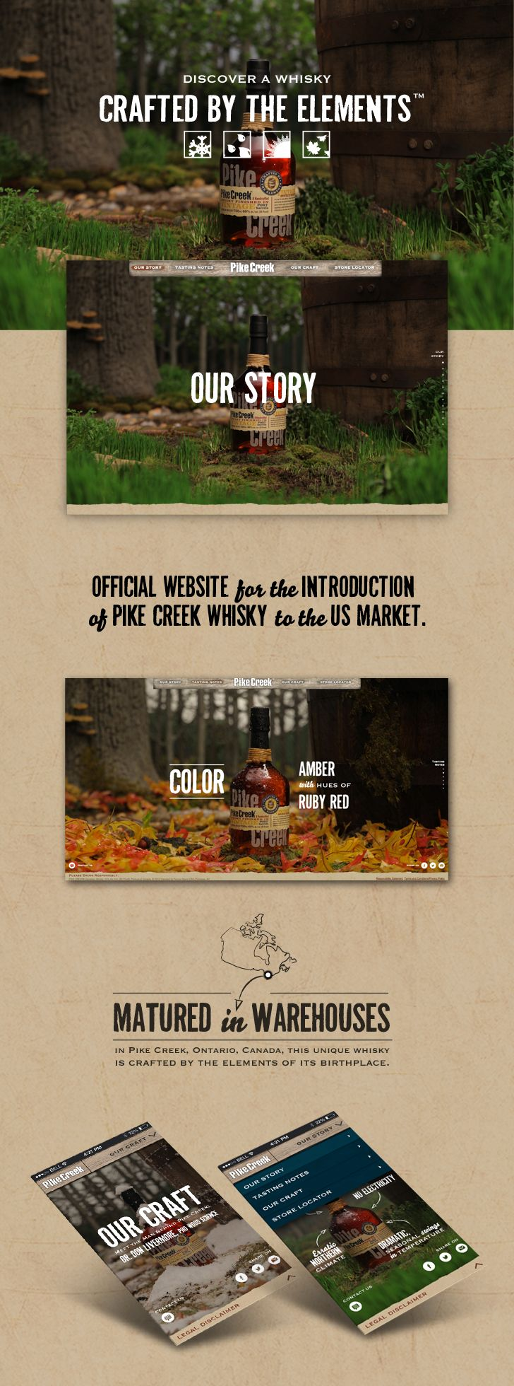 Pikecreek Promotional Website 2013