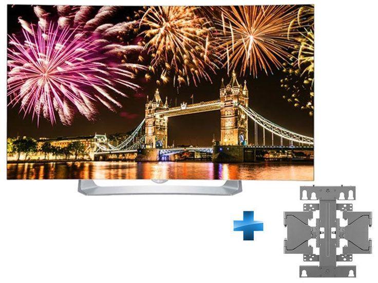LG Pack 55EG910 + Support mural ecran OLED prix Téléviseur Oled Rue du Commerce 1 490.00 € au lieu de 1 790 €