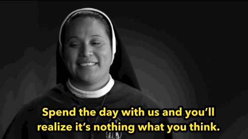 And Sister Luz Maria Hernandez wants you to kick it with them before you jump to conclusions: | These Three Nuns Dancing, Jumping On A Trampoline, And Rapping Will Make You Smile