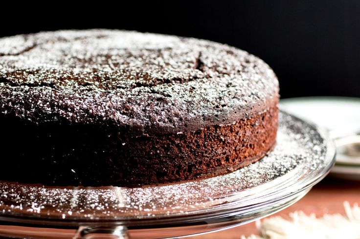NYT Cooking: Chocolate Whiskey Cake
