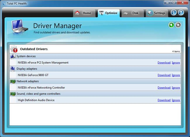 At communication manager driver download