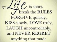 Positive quotesabout life Rules Smile – Cute Relationship Life
