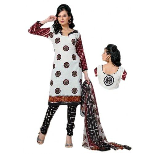 Variation Crepe Dress Material For Women - Salwar Suit by Variation Design