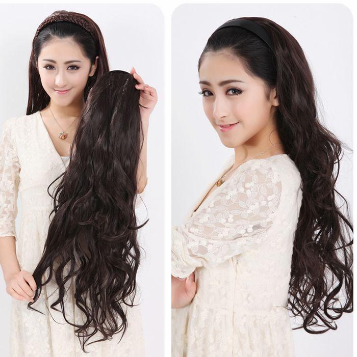 $22.93 (Buy here: https://alitems.com/g/1e8d114494ebda23ff8b16525dc3e8/?i=5&ulp=https%3A%2F%2Fwww.aliexpress.com%2Fitem%2FHalf-wigs-fluffy-long-curly-hair-big-wave-hair-bands-wig-headband-wig-roll%2F780572654.html ) Half wigs fluffy long curly hair big wave hair bands wig headband wig roll for just $22.93