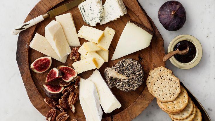 Jouluinen juustolautanen