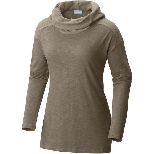 Columbia Sportswear Women's Easygoing Cowl Plus Size Long Sleeve Tunic Shirt (Green, Size 2X) - Women's Outdoor, Women's Outdoor Long-Sleeve Tops a...