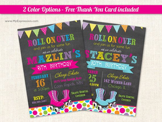 Free Roller Skating Birthday Party Invitations ~ Best soy luna images birthday party ideas