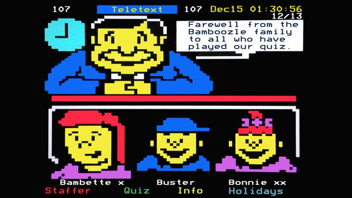 Block Party: The International Teletext Art Festival - The Chromologist