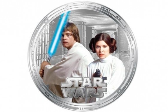 Star Wars coins issued by New Zealand Mint are legal tender in Niue