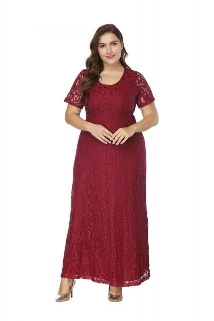 72eb4d4760f Plus Size Elegant Evening Dress – Curvy Fashion Queen