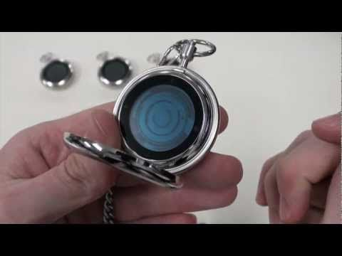 Kisai Rogue Touch Pocket Watch. Don't know about you but this watch reminds us of that old time-travelling TV series The Explorers (was that what it's called?).