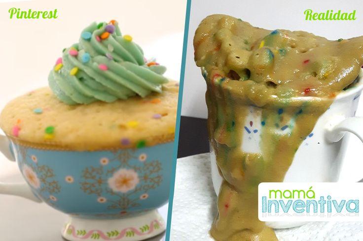 cake in mug reality