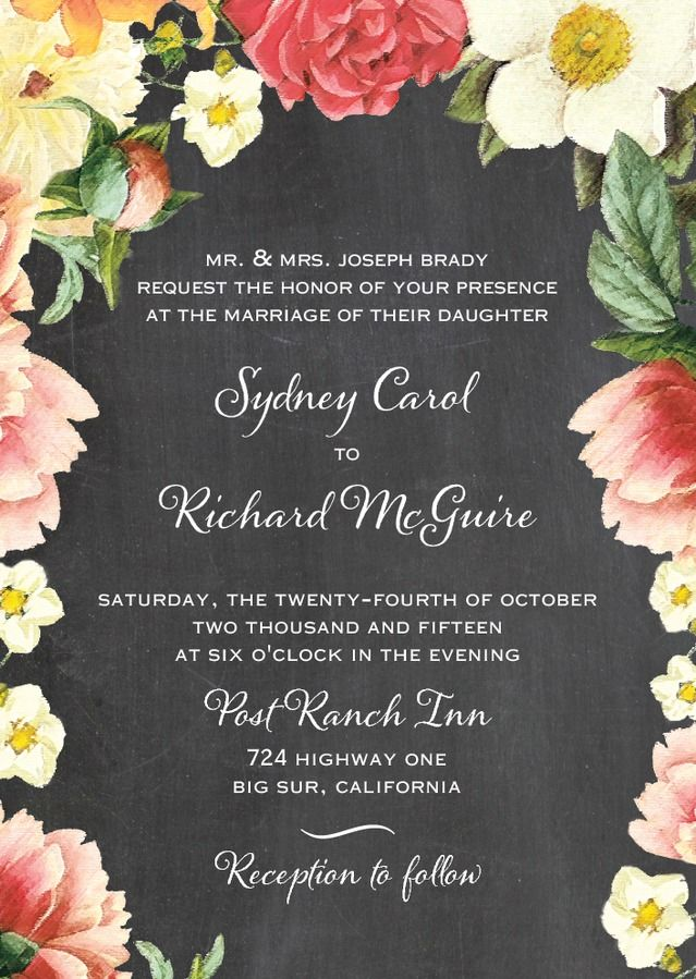 wedding invitations east london south africa%0A Floral Dreams  Signature White Wedding Invitations  East Six Design   Flint  Gray   Front