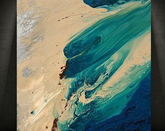 Kunst Malerei ORIGINAL Gemälde Acrylmalerei von LDawningScott
