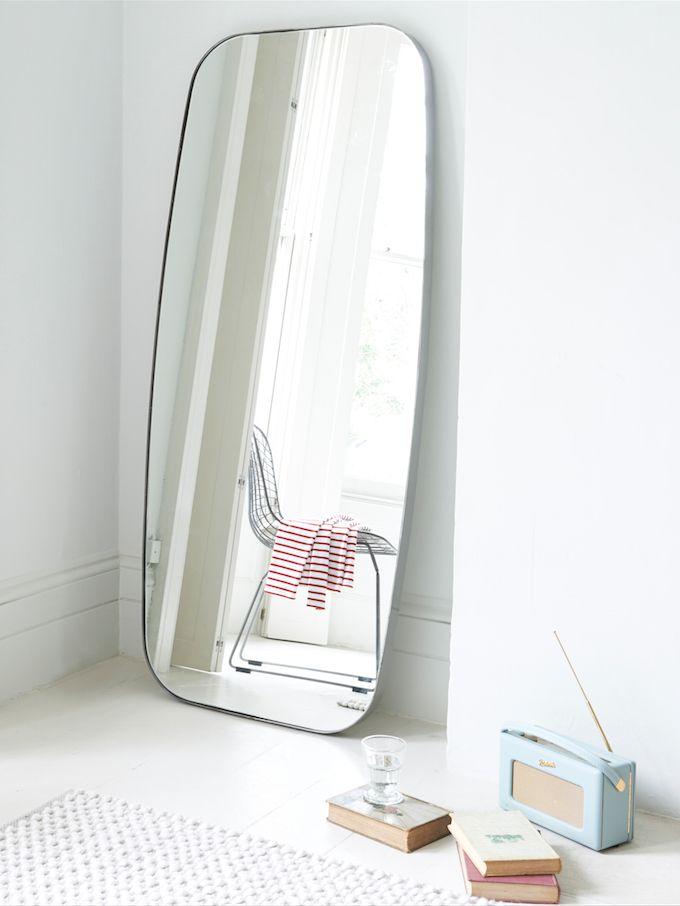 Loaf's steel frame Inigo floor mirror #RobertsRadio