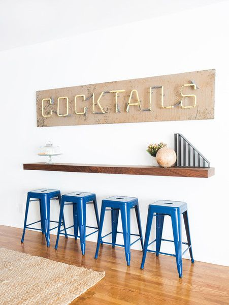 Have a Drink at the Bar - San Clemente Beach House by Orlando Soria