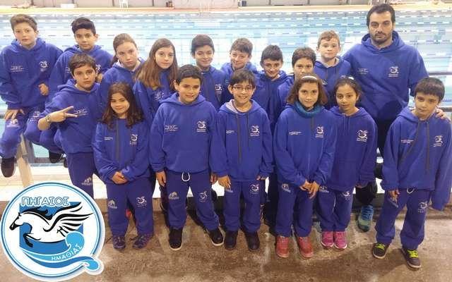 Με 17 μικρούς κολυμβητές στην Θεσσαλονίκη ο Πήγασος