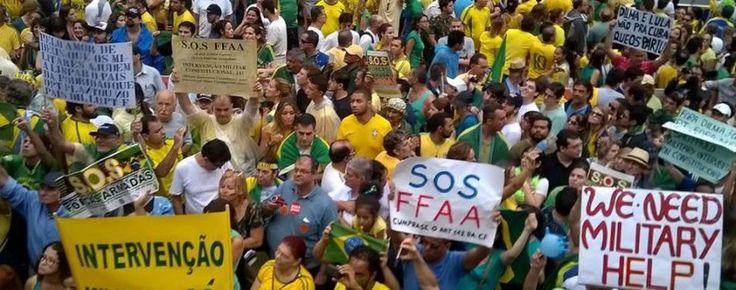 Manifestantes planejam ir para as ruas pedir 'intervenção militar' dia 15 de novembro – RedeBrasil.NET