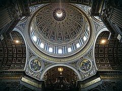 Cúpula, Roma, San Pedro, Basílica