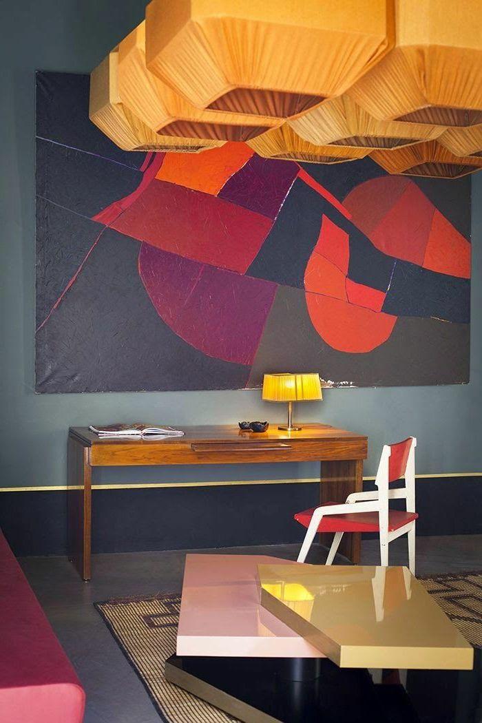 ▷ 1001 + Ideen zum Thema Welche Farbe passt zu Rot Wandgestaltung - wandgestaltung mit drei farben