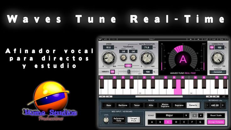 Waves Tune Real Time Afinador vocal para directos y