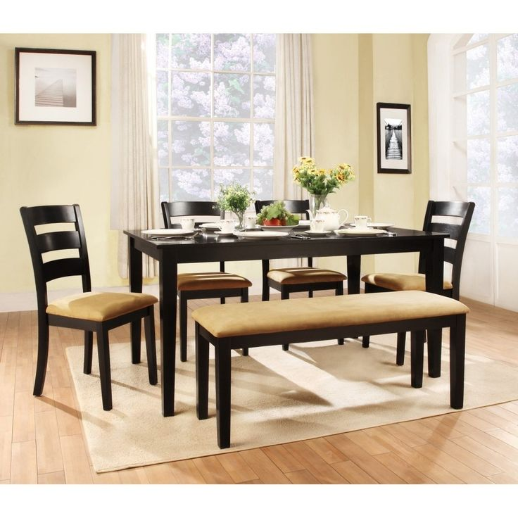 High Top Kitchen Table With Bench Dining Table Bench: Best 25+ Large Round Dining Table Ideas On Pinterest