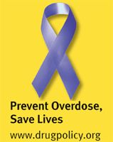 FREE Purple Ribbon Sticker (Prevent Drug Overdose) on http://hunt4freebies.com